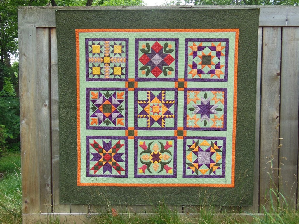 how to make a modern sampler quilt