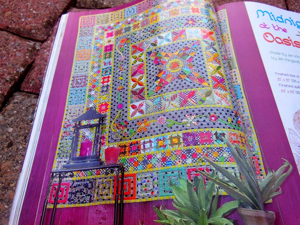 Midnight at the Oasis Medallion Quilt-Along - Color Girl Quilts by ... : medallion quilt pattern - Adamdwight.com