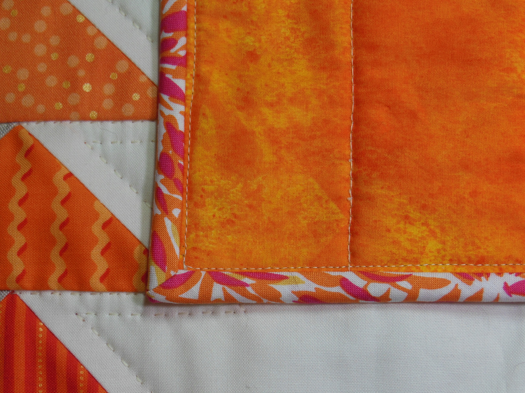 Binding Your Quilt (by machine, or by hand) - Color Girl Quilts by ... : binding a quilt by hand - Adamdwight.com