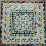 Finished! Marcelle Medallion Quilt