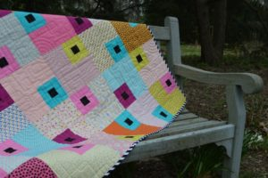 Jewel Box beginner quilt pattern by Color Girl Quilts
