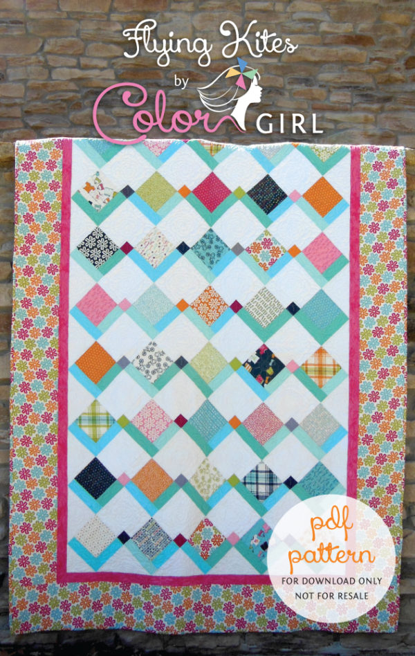 Flying Kites by Color Girl Quilts