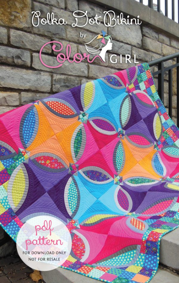 Polka Dot Bikini by Color Girl Quilts