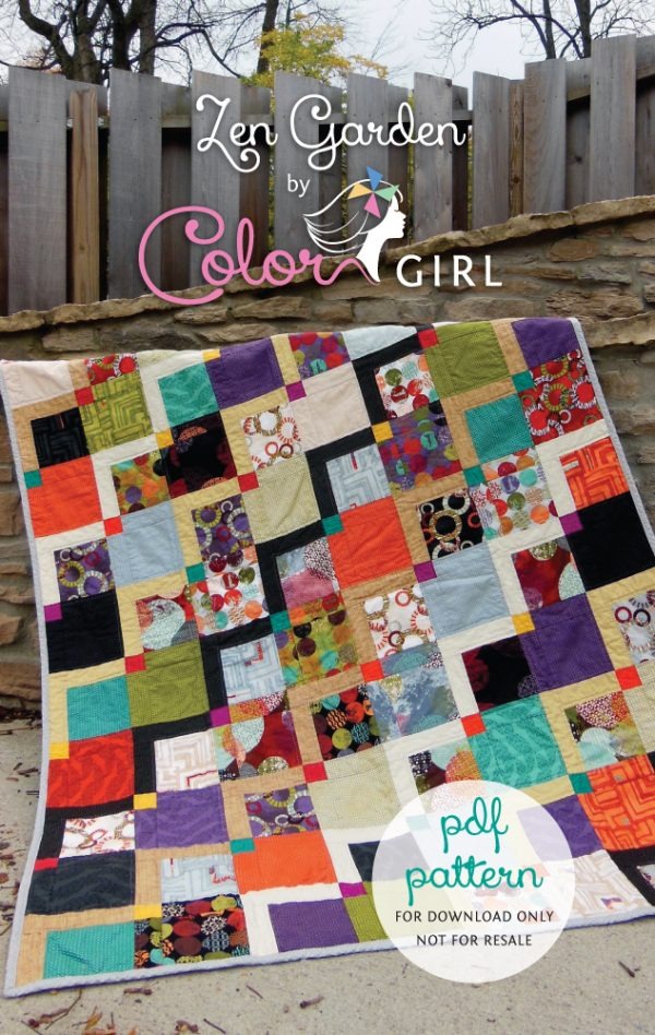 Zen Garden by Color Girl Quilts