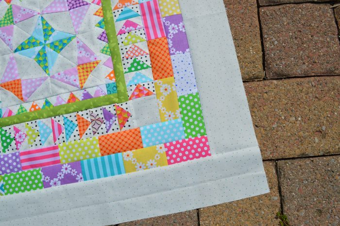 Mini Marcelle Medallion quilt