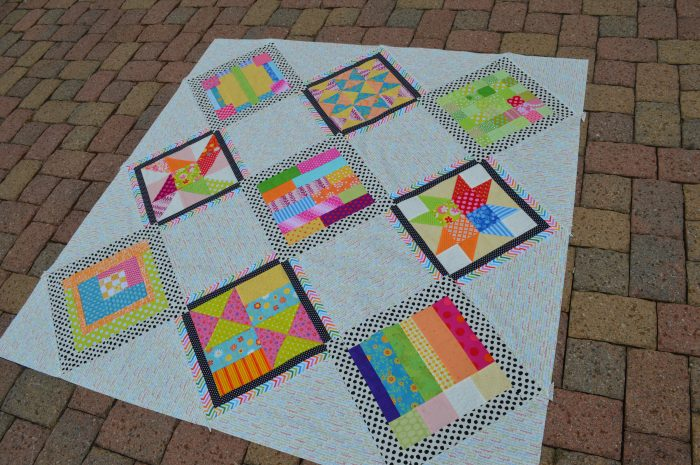 Summer Blockbuster Quilt 2014