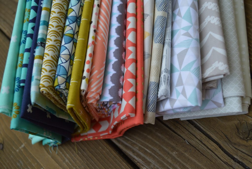 modern quilting and sewing fabric by cotton and steel, cloud9, art gallery fabrics, and michael miller fabrics
