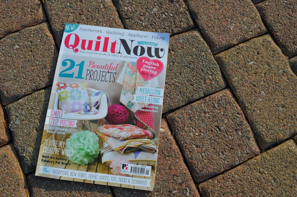 quilt now magazine cover issue 1
