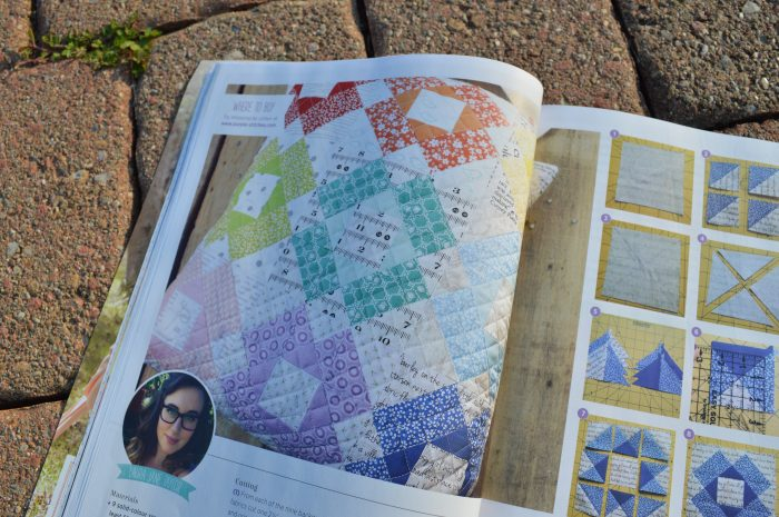 Quilt Now magazine, first issue, july 2014