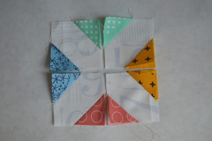 super simple sampler, six inch quilt block, modern patchwork