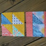 October Quilters' Book Club: 4 Blocks