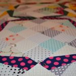 Quilt in Progress: Basting