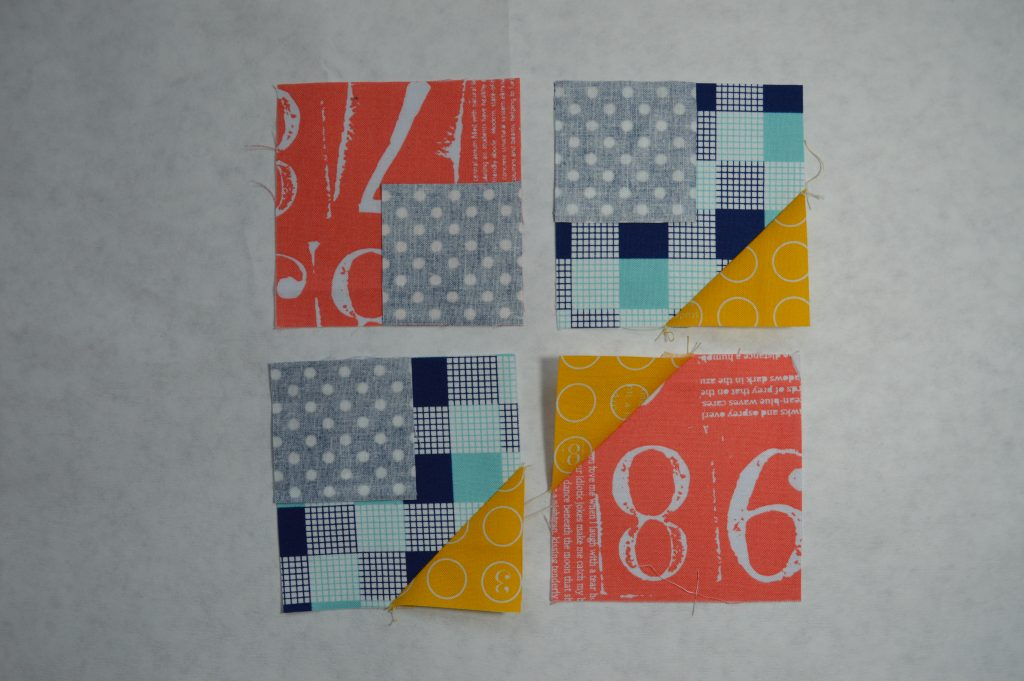 "Super Simple 6"" sampler quilt blocks by Sharon McConnell, modern patchwork"