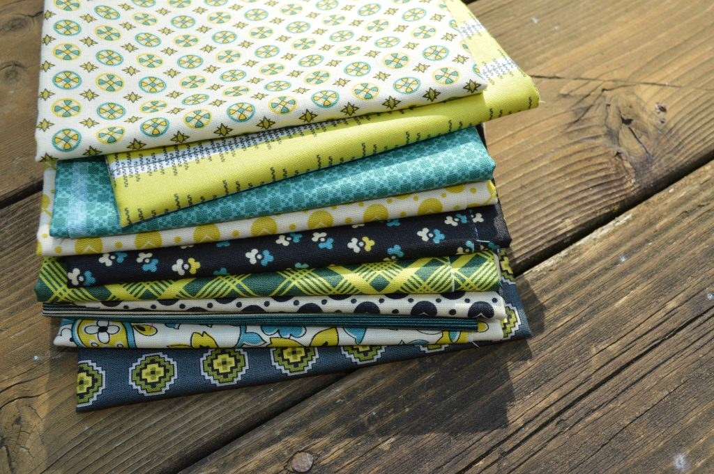 Chicopee fabric by Denyse Schmidt for Free Spirit, quilting