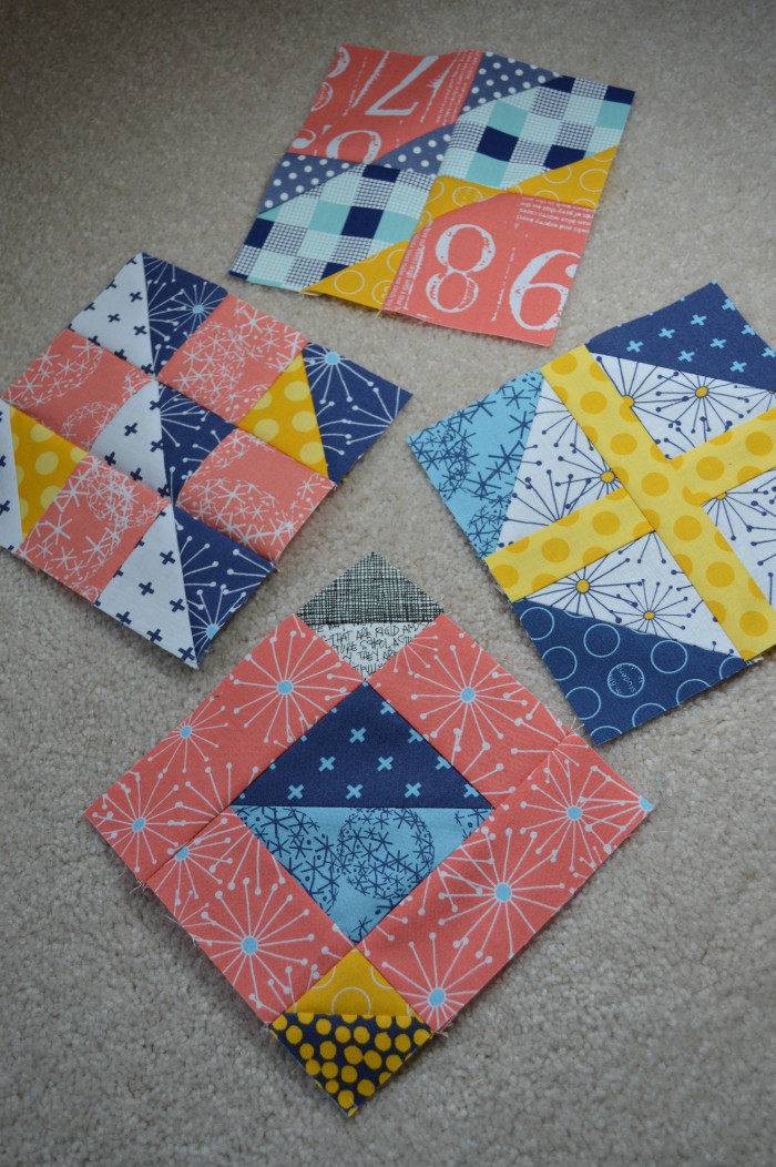 Super Simple Sampler Block 8 Color Girl Quilts By