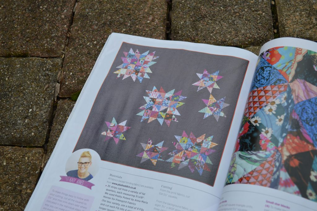 Quilt Now Magazine issue 3, sewing ideas from Color Girl Quilts