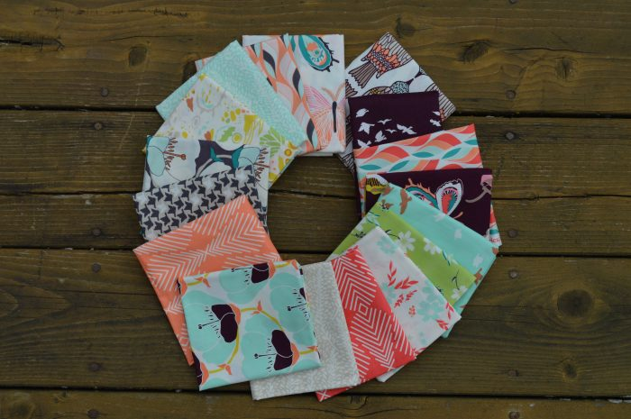 Choosing fabric by Sharon McConnell, quilting