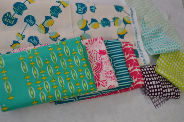 Utopia Fabrics by Frances Newcombe for Art Gallery Fabrics, sewing by Sharon McConnell