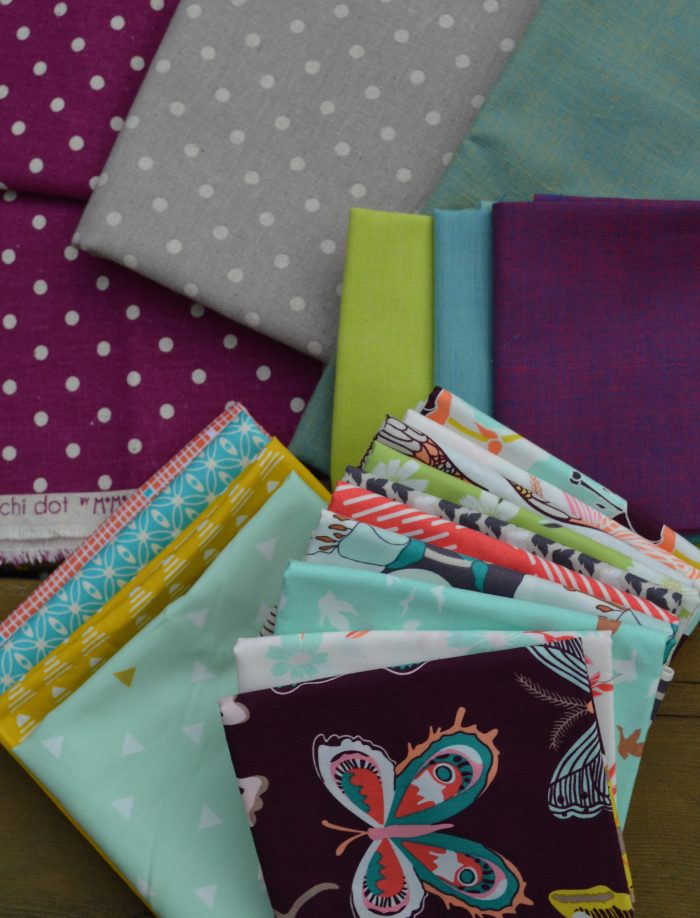 Choosing fabric by Sharon McConnell, quilting and patchwork