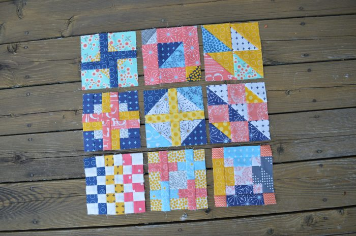 super simple modern sampler blocks by sharon mcconnell, six inch quilt blocks