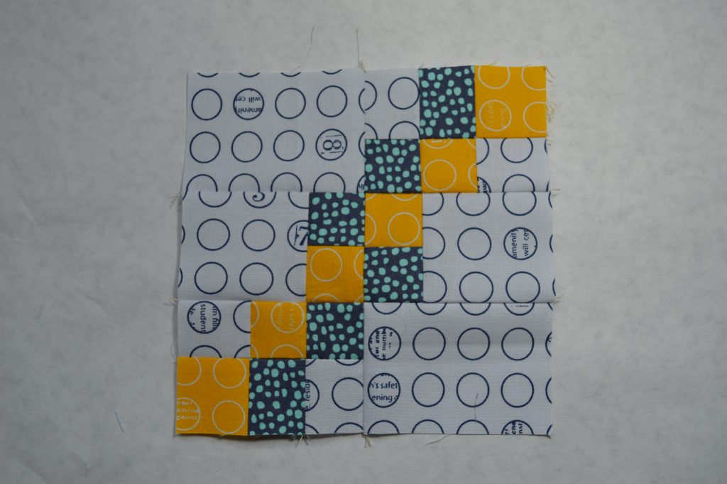 super simple sampler six inch quilt block by Sharon Mcconnell, color girl quilts