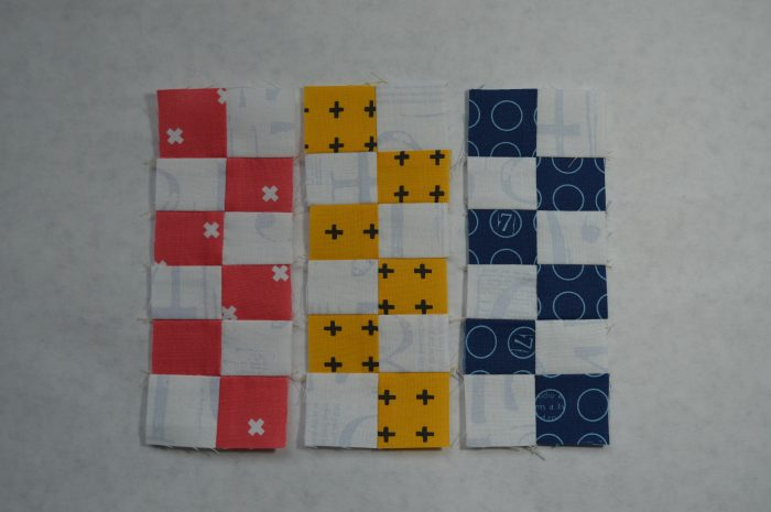 Super Simple six inch sampler blocks by Sharon McConnell, modern quilting squares