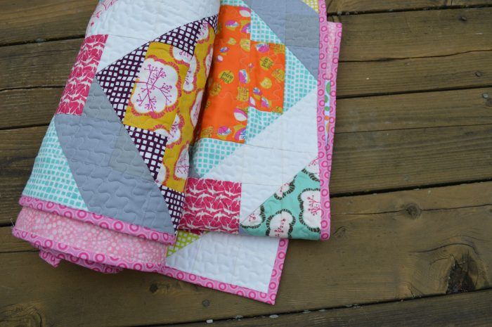 star crossed patchwork quilt by sharon mcconnell with utopia fabric by Art gallery fabrics