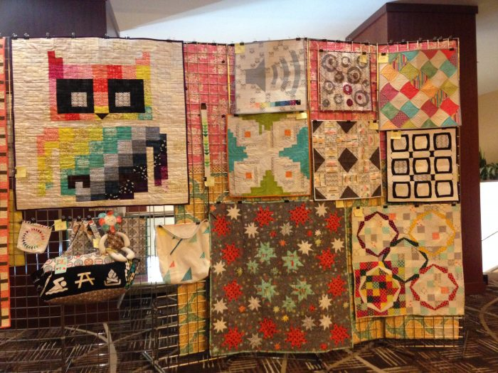 Sewtopia quilting and sewing retreat, fall 2014