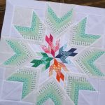 Aviatrix Quilt: the Center Star