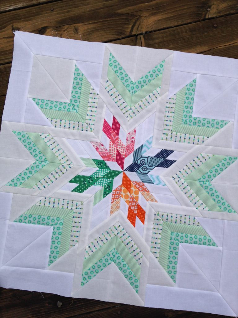 Bird in the window quilt star, aviatrix medallion center star quilt