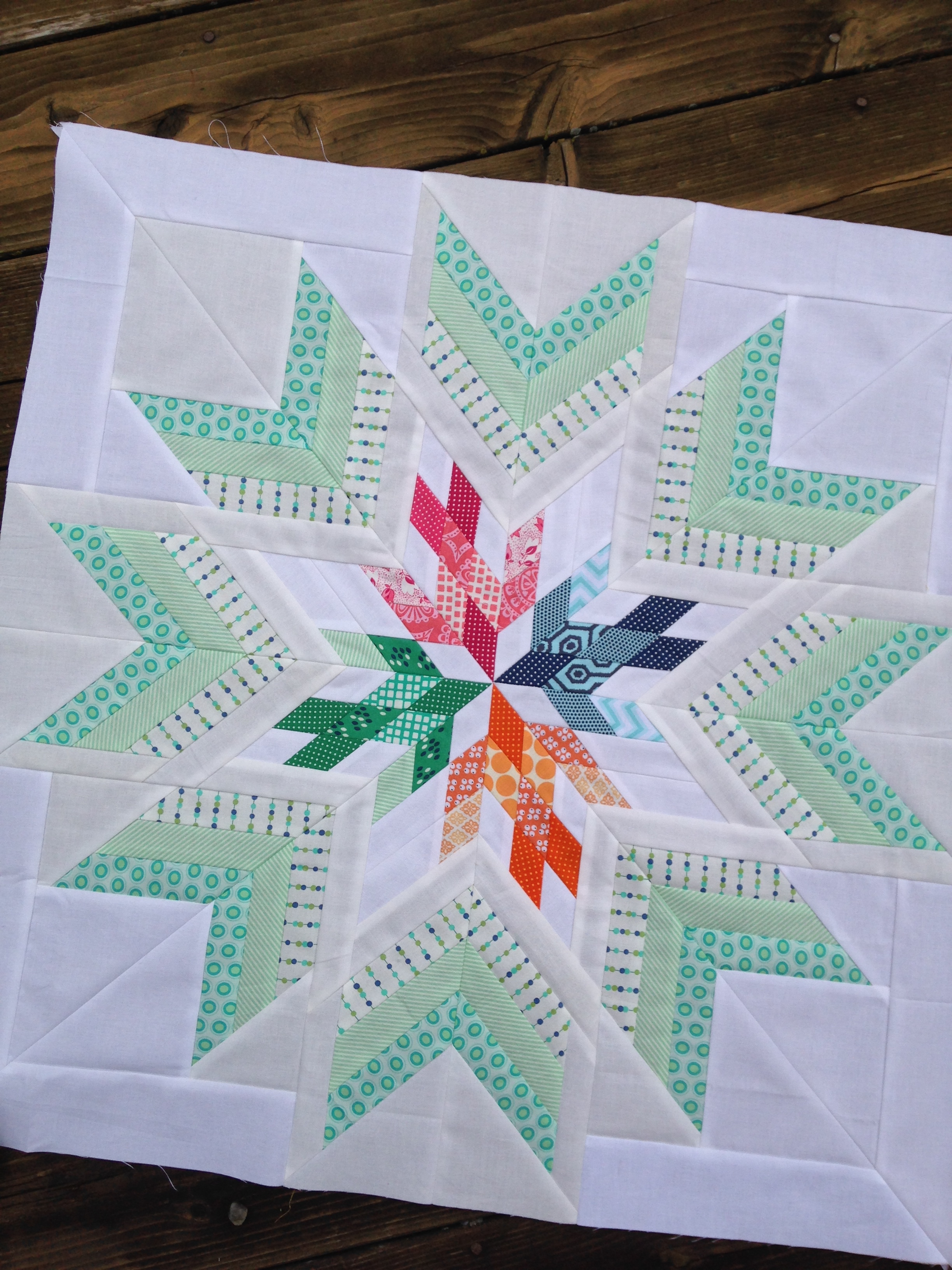 Aviatrix Quilt The Center Star Color Girl Quilts By