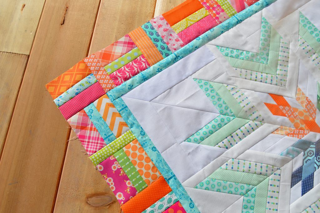 Aviatrix Medallion Quilt The First Border Color Girl