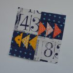 Super Simple Sampler Block #17: Flying Geese