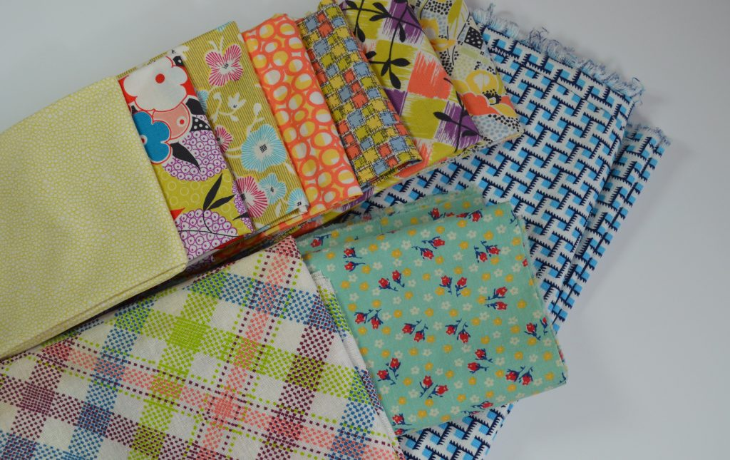 choosing fabric for quilt, vintage and reproduction prints