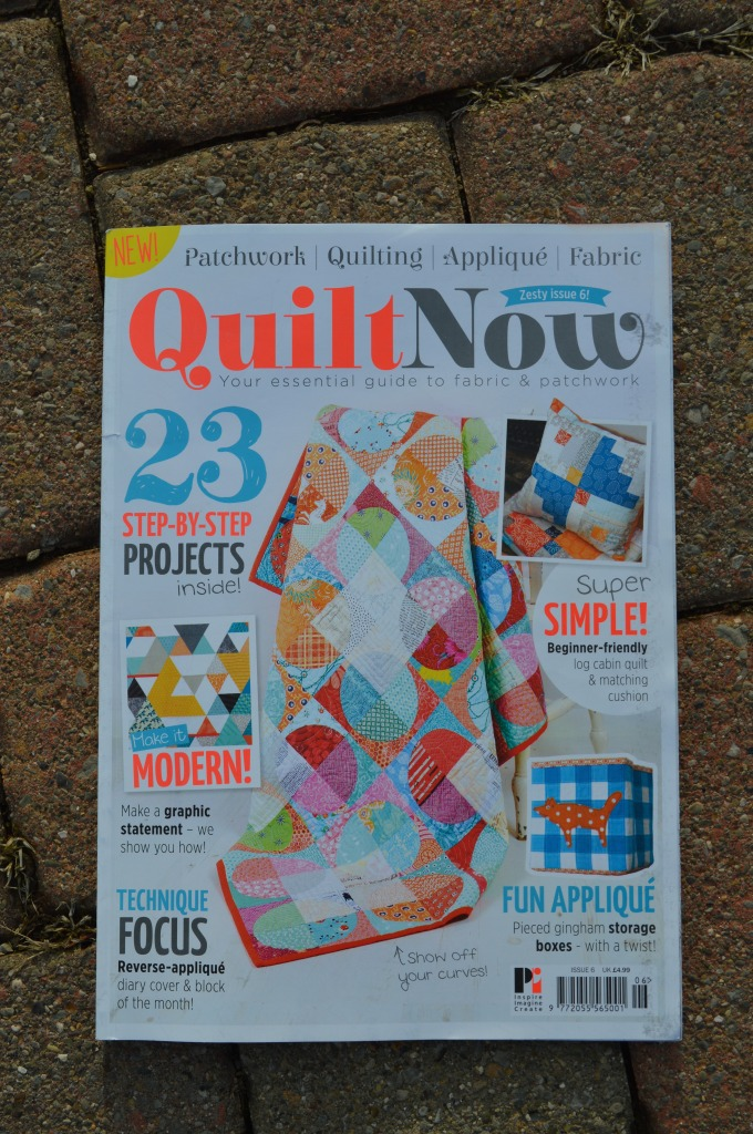Quilt Now magazine, modern patchwork and quilting with sewing patterns