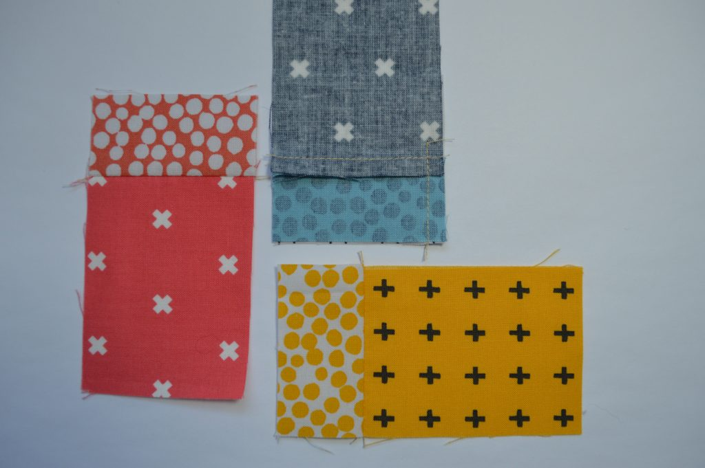 How to sew quilt block with partial seam