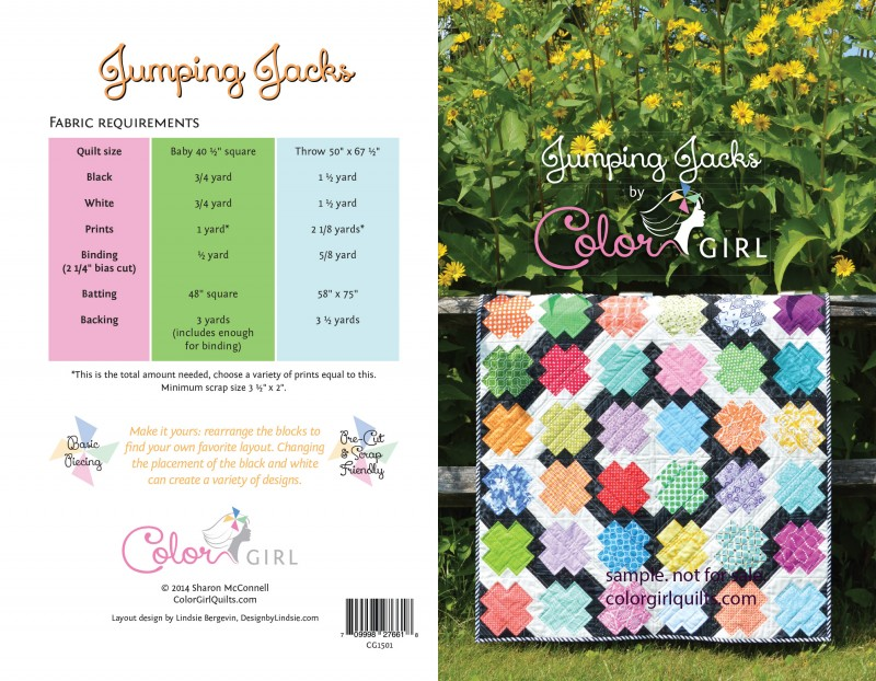 JumpingJacks quilt pattern