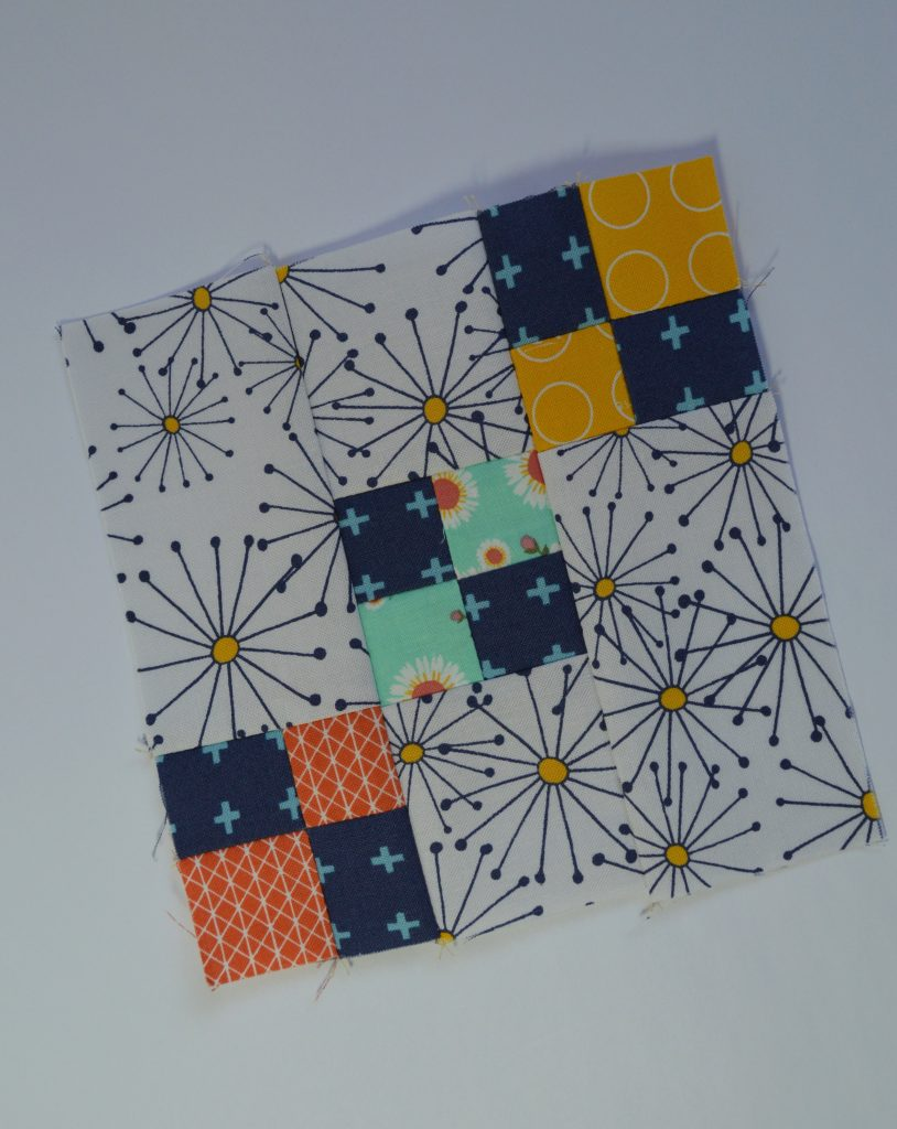 how to make four patch square simple six inch sampler quilt block