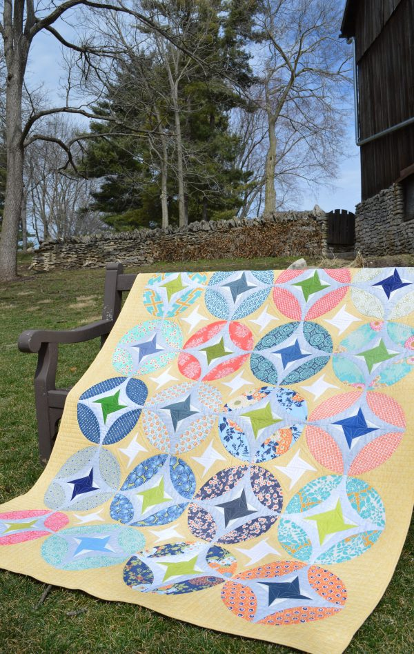 Eclipse Quilt pattern by Color Girl