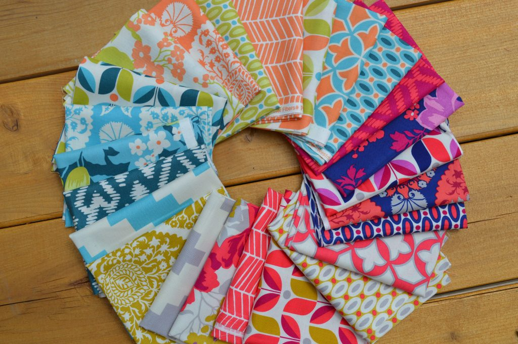 Flora Fabrics by Joel Dewberry for Free Spirit fabrics