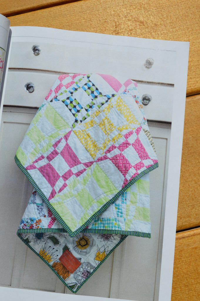 Quilt Now Magazine issue 10 featuring bright fabrics and colors sewing projects