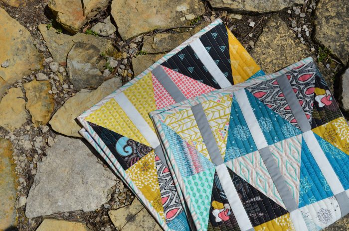 Archer Quilt by Sharon McConnell with Etno fabrics by Pat Bravo
