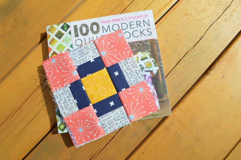 Tula Pink City Sampler modern six inch quilt blocks