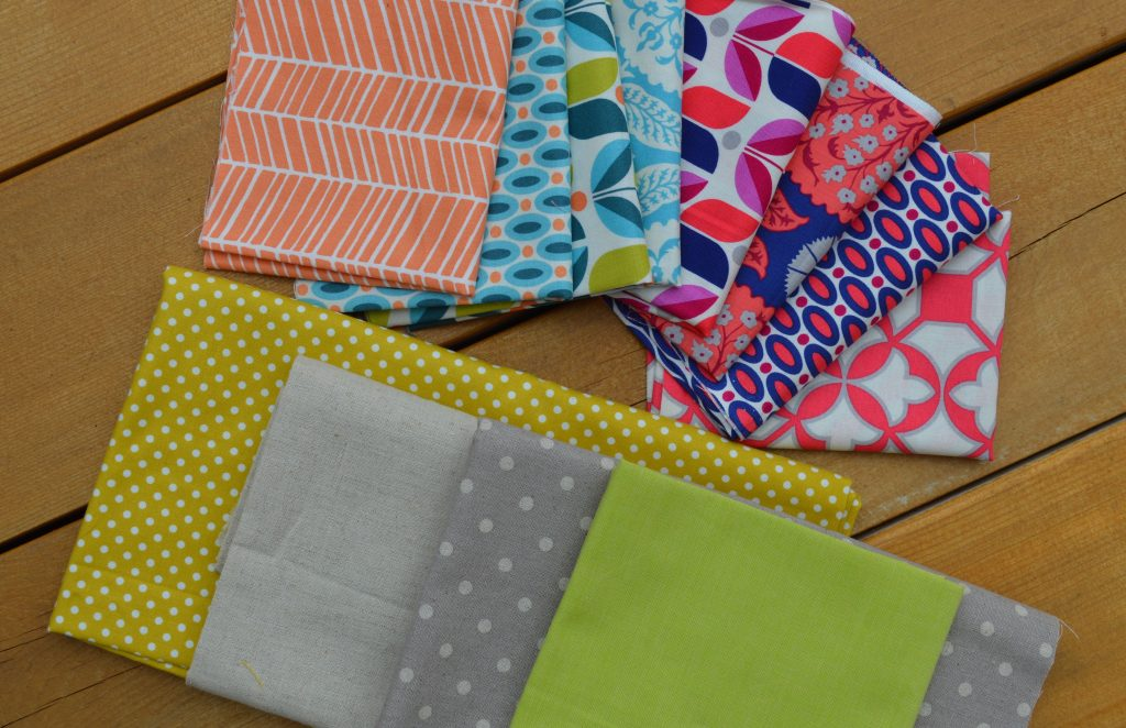 what goes with Flora fabrics by Joel Dewberry with fabric
