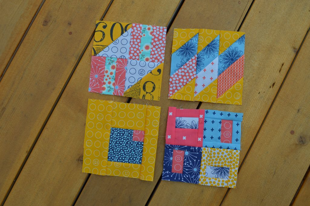 tula pink 100 modern quilt sampler blocks featuring zen chic fabric for moda fabrics