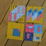 May Book Club: the last four sampler blocks