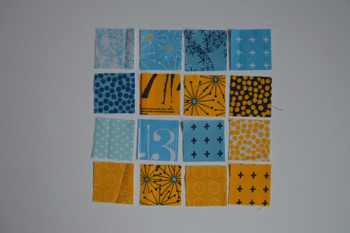 how to make super simple modern sampler quilt blocks