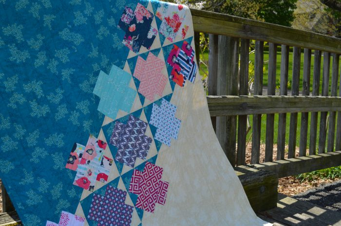 Jumping Jacks quilt by Color Girl, Sharon McConnell