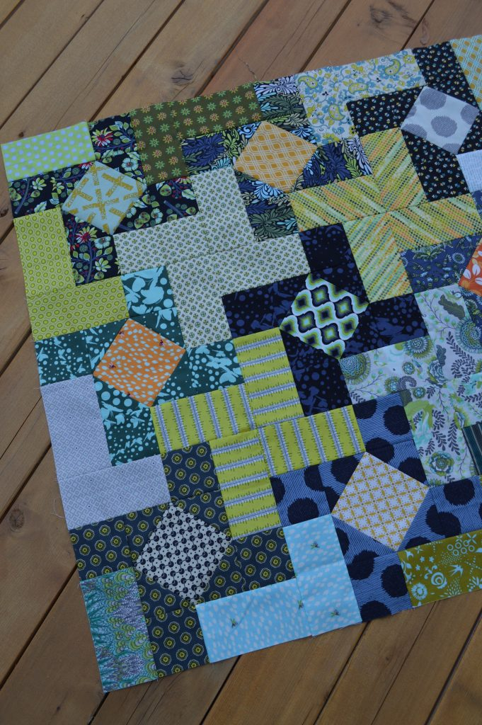 Dutch windmill quilt pattern by Sharon McConnell