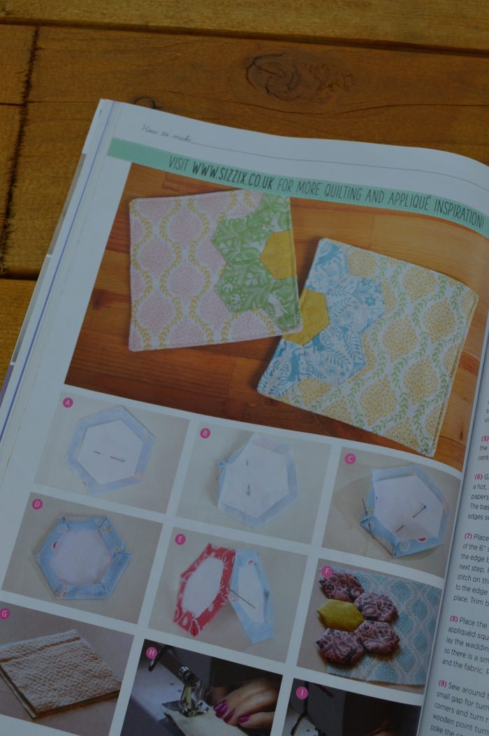 Quilt Now Magazine issue 11 featuring quilt beginner quilts and sewing
